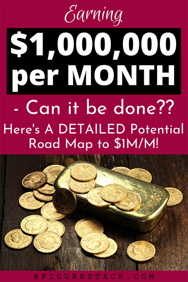 Earning A Million Dollars In One MONTH - Can It Be Done